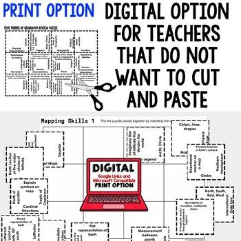 Australia Vocabulary Puzzle (Print and Digital), Australia Activity