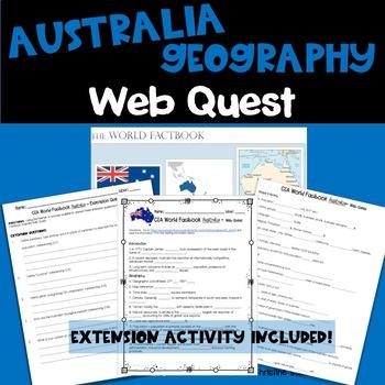 Australia Web Quest