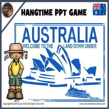 australian words powerpoint game