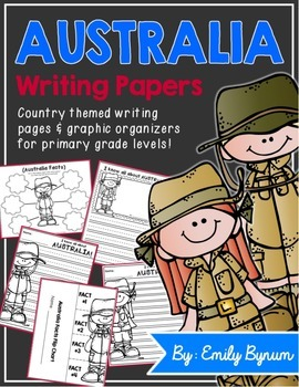 Australia Writing Papers (A Country Study!)