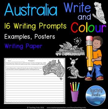 Narrative Writing Prompts Australia Theme