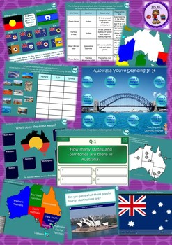 Australia You're Standing In It Year 3 & 4 HSIE Smart Notebook Unit Bundle