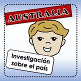 Australia - actividades para investigar sobre el país