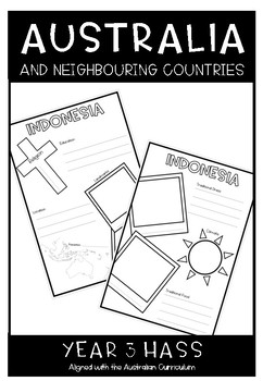 Australia and Neighbouring Countries: Year 3 HASS
