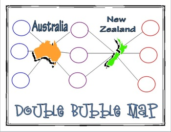 Australia and New Zealand Graphic Organizers