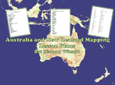Australia and New Zealand Mapping Lesson Plans