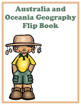 Australia and Oceania Geography Flip Book