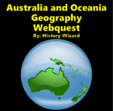 Australia and Oceania Geography Webquest