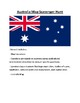 Australia and Oceania Map Scavenger Hunt Bundle
