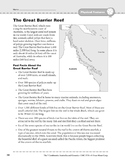 Australia and Oceania: Physical Features: Great Barrier Reef