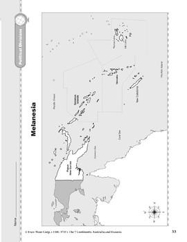 Australia and Oceania: Political Divisions: Melanesia