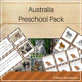 Australia and Oceania Preschool Pack