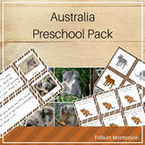 Australia and Oceania Preschool Pack