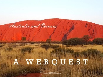 Australia and Oceania: Webquest with Worksheet