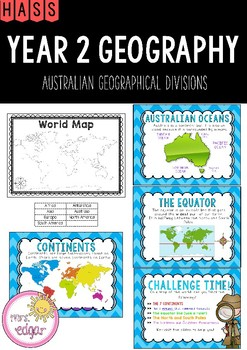 HASS | Year 2 Geography: Australian Geographical Divisions