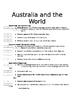Australia and the World - Extension Program - Based on Blo