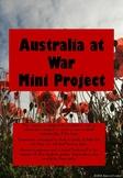 Australia at War Mini Project