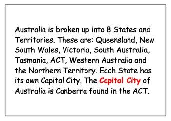 Australia big book, a land down under