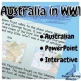 Australia in WW1 History PowerPoint Resource