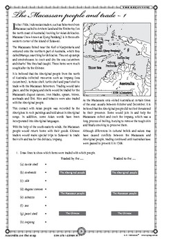 Australia on the Map 1606-2006 – Ages 11+