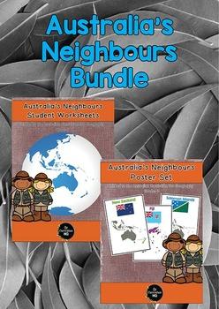 Australia's Neighbours Geography Bundle