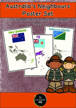 Australia's Neighbours Poster Set