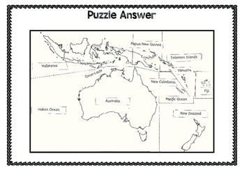 Australia's Neighbours Puzzle