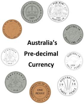 Australia's Pre-Decimal Currency Clip Art