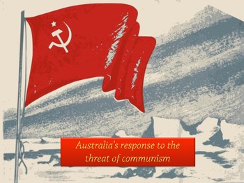 Australia's Response to Threat of Communism Essay Building Cards and Scaffold