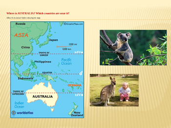 Australia - the Continent & the Country