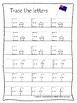 Australia themed A-Z Tracing Worksheets.Printable Preschool Handwriting