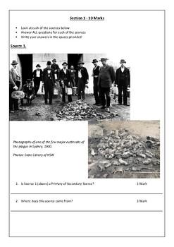 Australia to 1901 Assessment Task