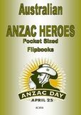 Australian ANZAC Heroes Pocket Sized Flipbook