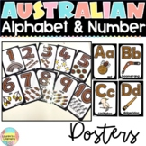 Australia Aboriginal Alphabet and Number Display Posters