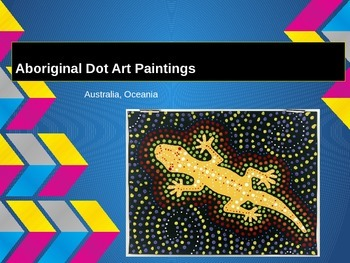 Australian Aboriginal Dot Art Painting Project - Animal Focus PowerPoint
