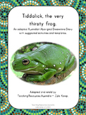 Australian Aboriginal Dreamtime Story: Tiddalick, the very thirsty frog