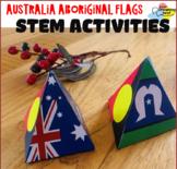 Australian Aboriginal Flags STEM activities for preschool | Flags craft activity