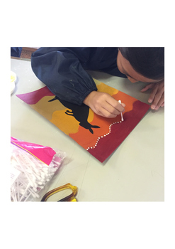 Art Lesson: Australian Aboriginal Art & History Activity #3