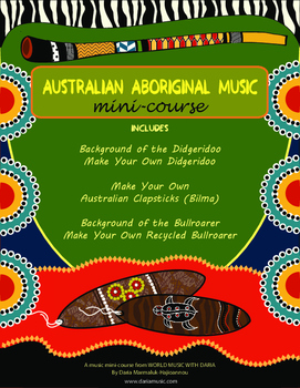 Australian Aboriginal Instruments Music Mini-Course