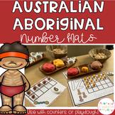 Australian Aboriginal Symbol Playdough Number Mats
