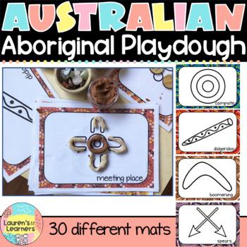 Playdough Mats Naidoc Week Playdough Activities for Kids Aboriginal  Home school Fine Motor Aboriginal Symbol Playdough Mats