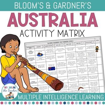 Australian Activity Matrix