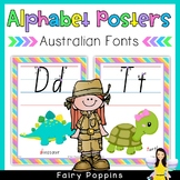 Australian Alphabet Charts
