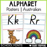 Australian Alphabet Charts {Posters} - School Fonts