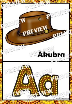 Australian Alphabet Posters