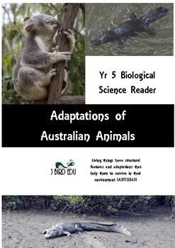 Australian Animal Adaptations student reader