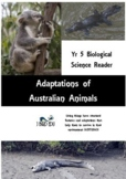 Australian Animal Adaptations. Student Reader