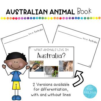 Australian Animal Book