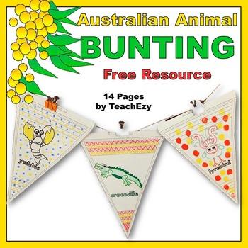 Australian Animal Bunting