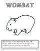Australian Animal Coloring Sheets- 12 Designs